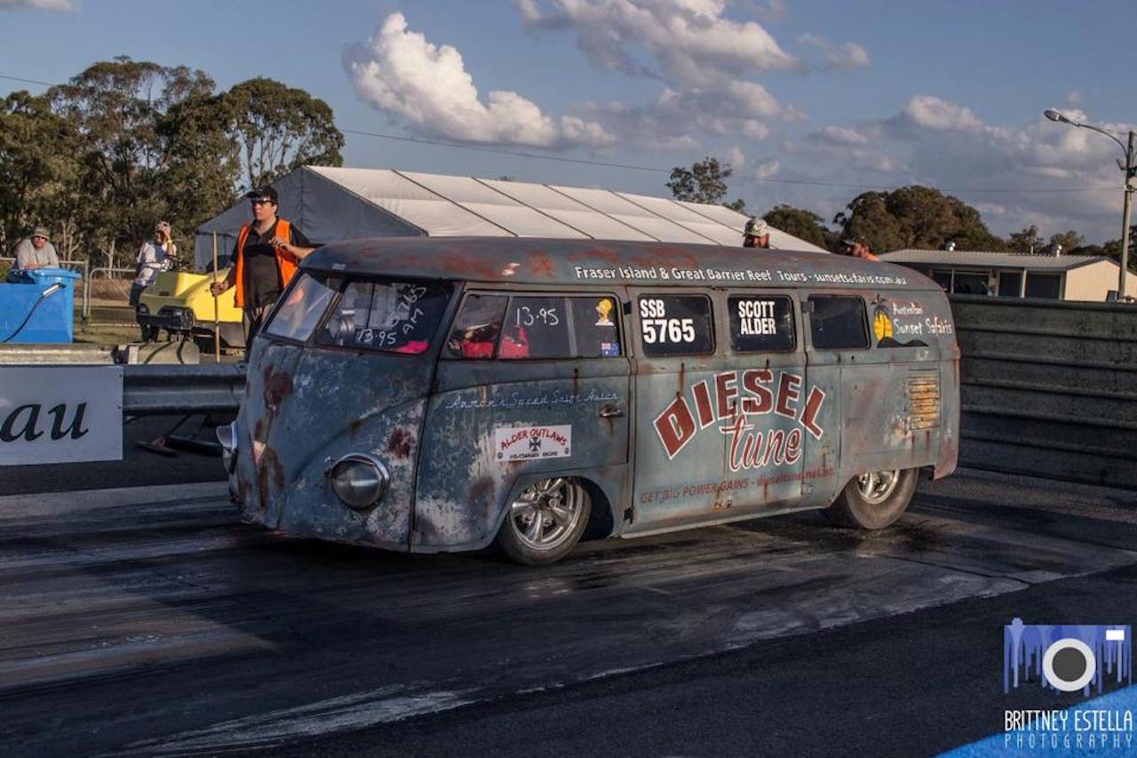 VW combi by Alder Outlaws - Crazy wheels ! 15
