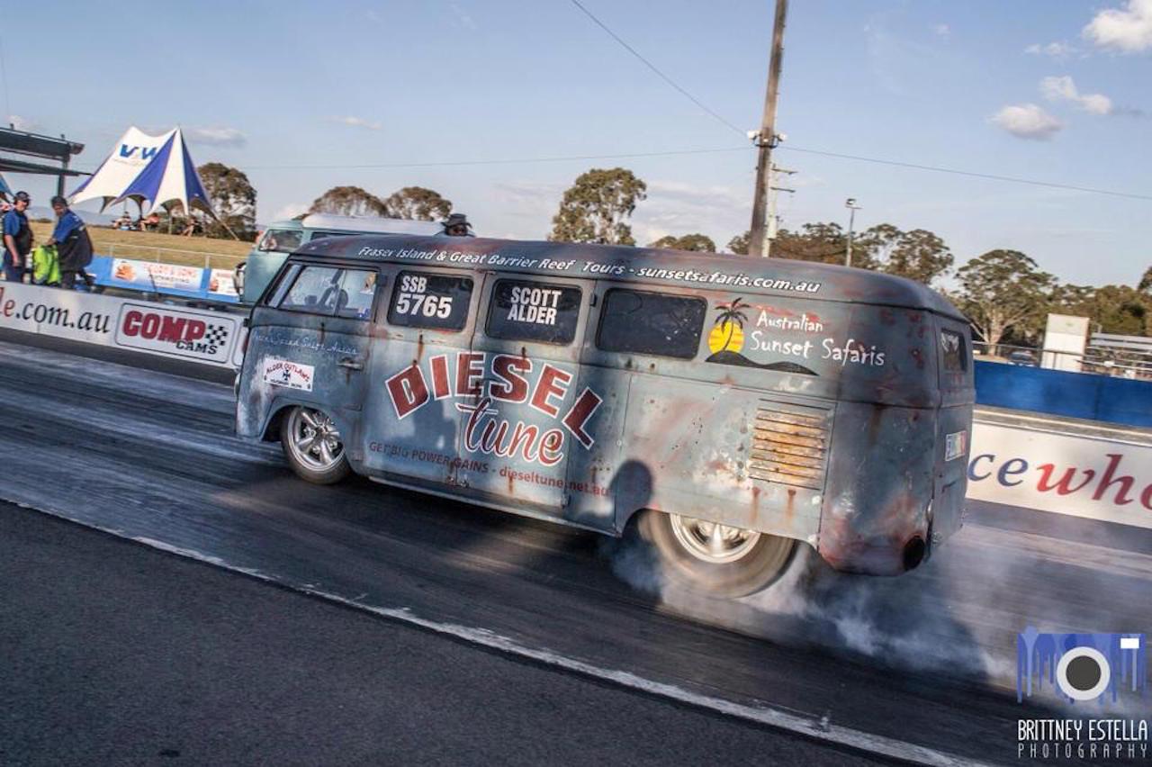 VW combi by Alder Outlaws - Crazy wheels ! 11