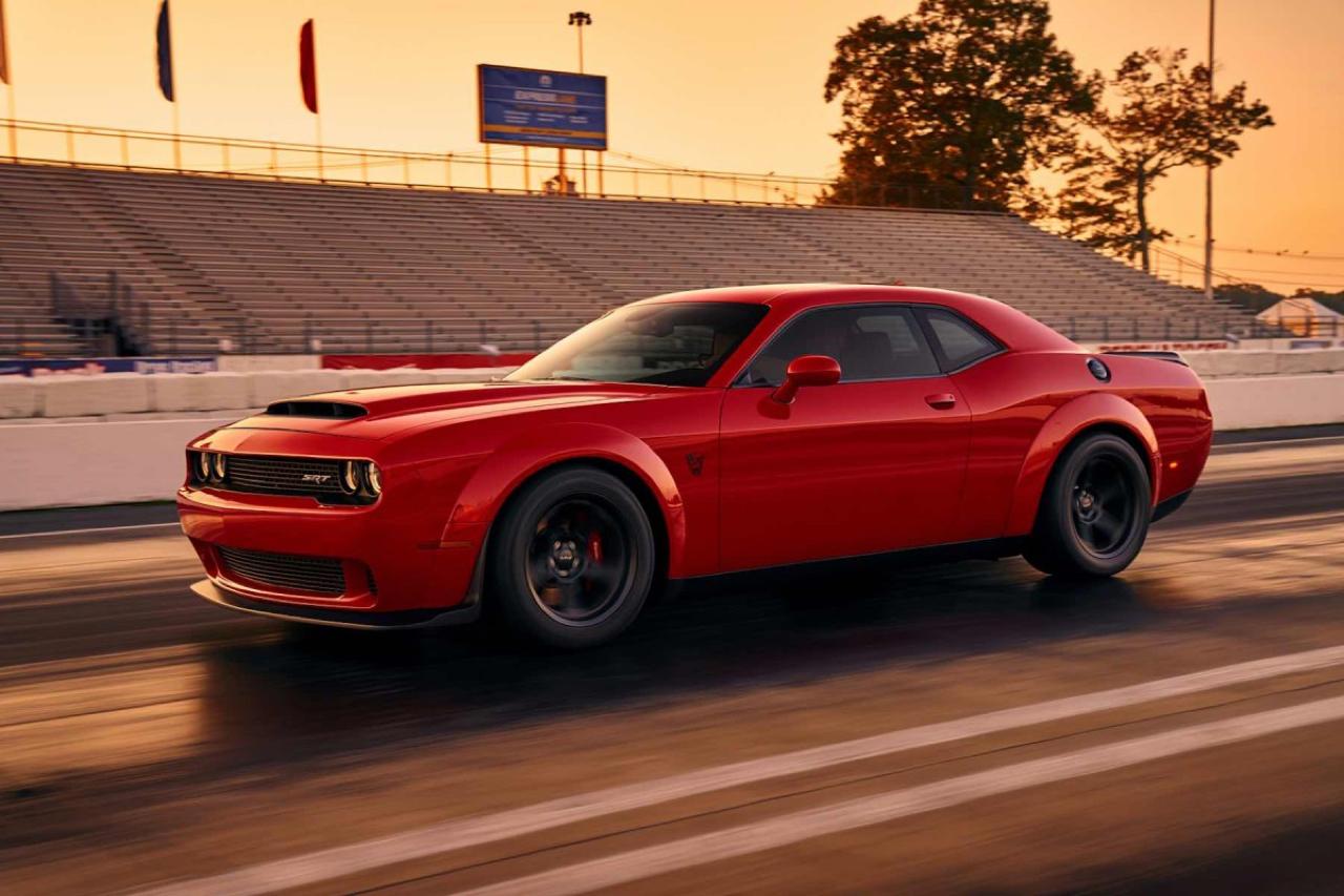 Dodge Challenger SRT Demon... Street legal sortie de l'enfer ! 6