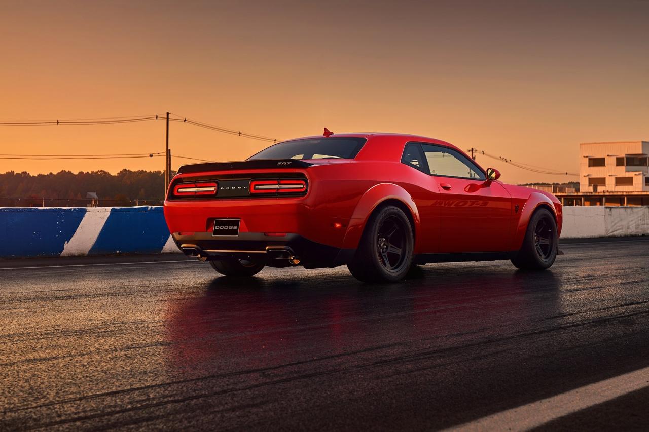 Dodge Challenger SRT Demon... Street legal sortie de l'enfer ! 12