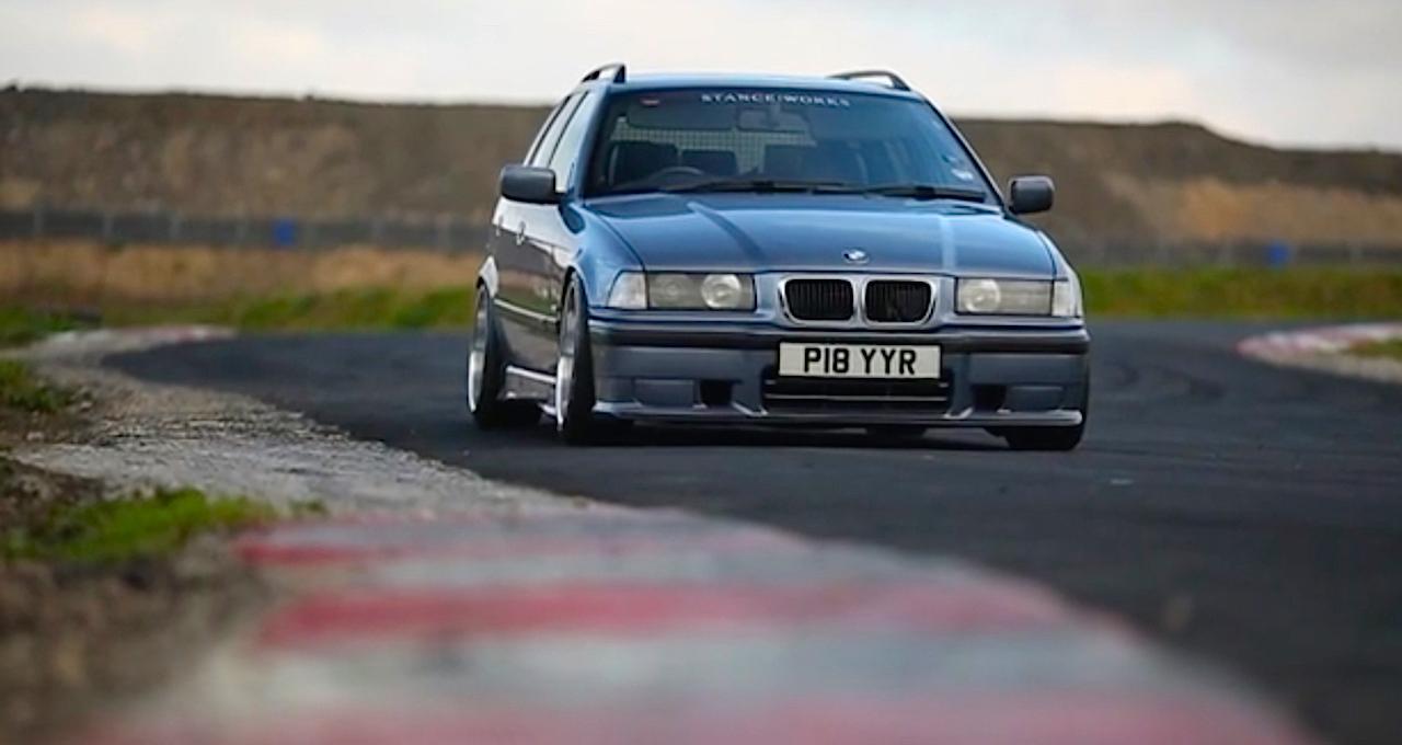 Duo de BMW E36 touring - Break down ! 7