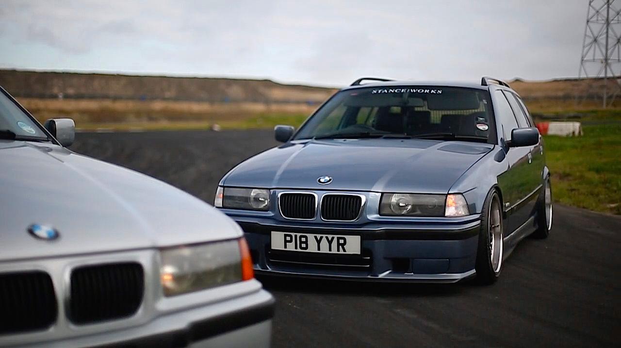 Duo de BMW E36 touring - Break down ! 8