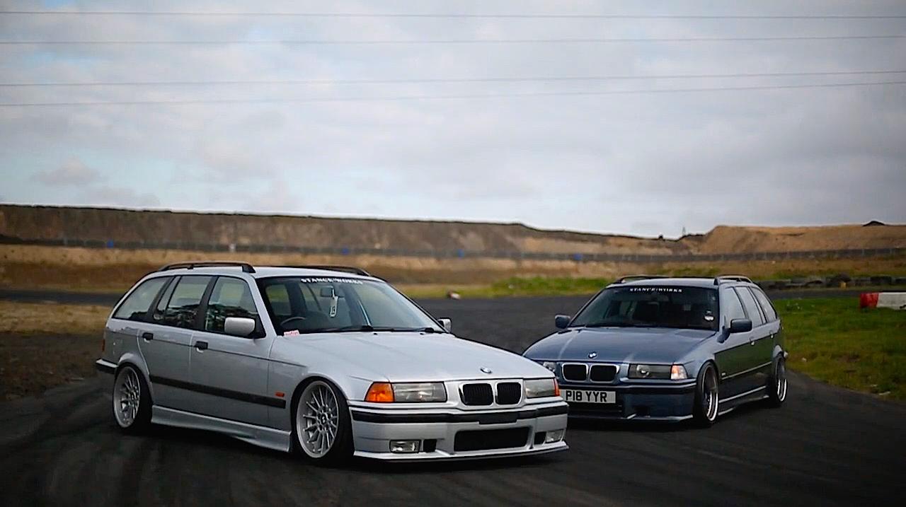 Duo de BMW E36 touring - Break down ! 9