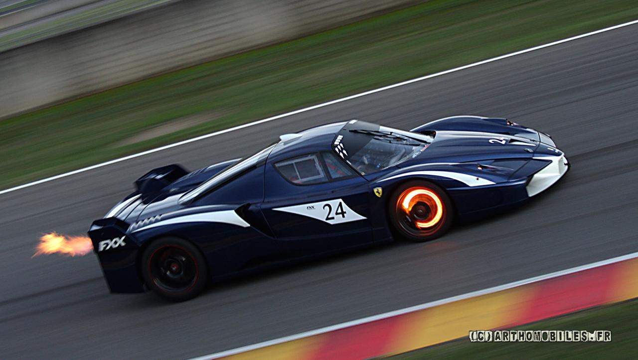 Ferrari FXX K... Showtime ! Ou peut être Chaudtime... 15