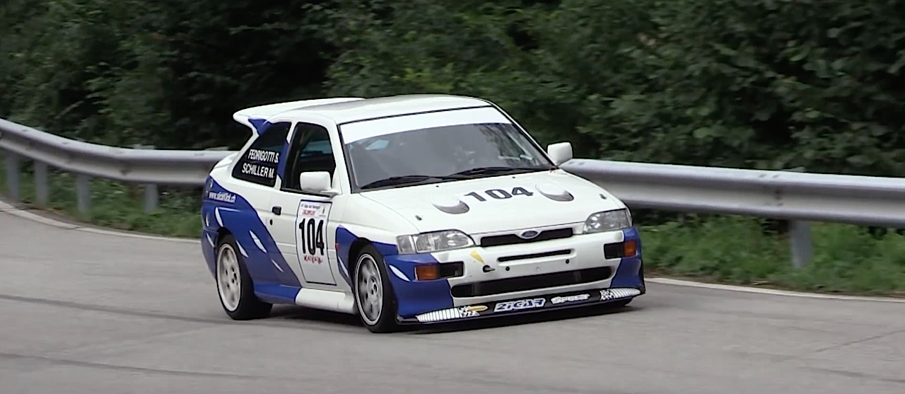 Engine sound : Ford Escort Cosworth... Balade en Italie ! 1
