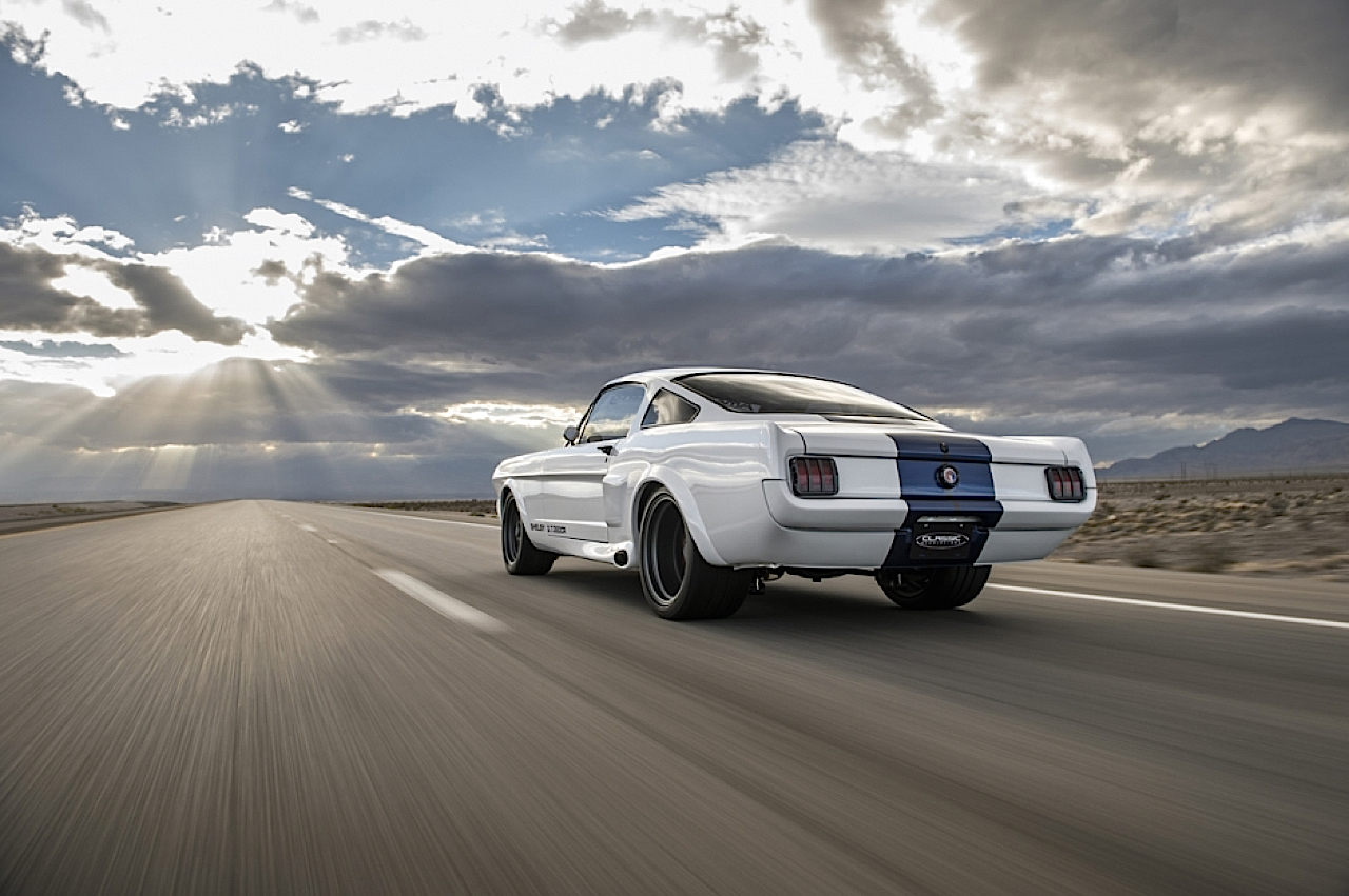 Ford Mustang Shelby GT350 restomod... Modif d'origine ! 1