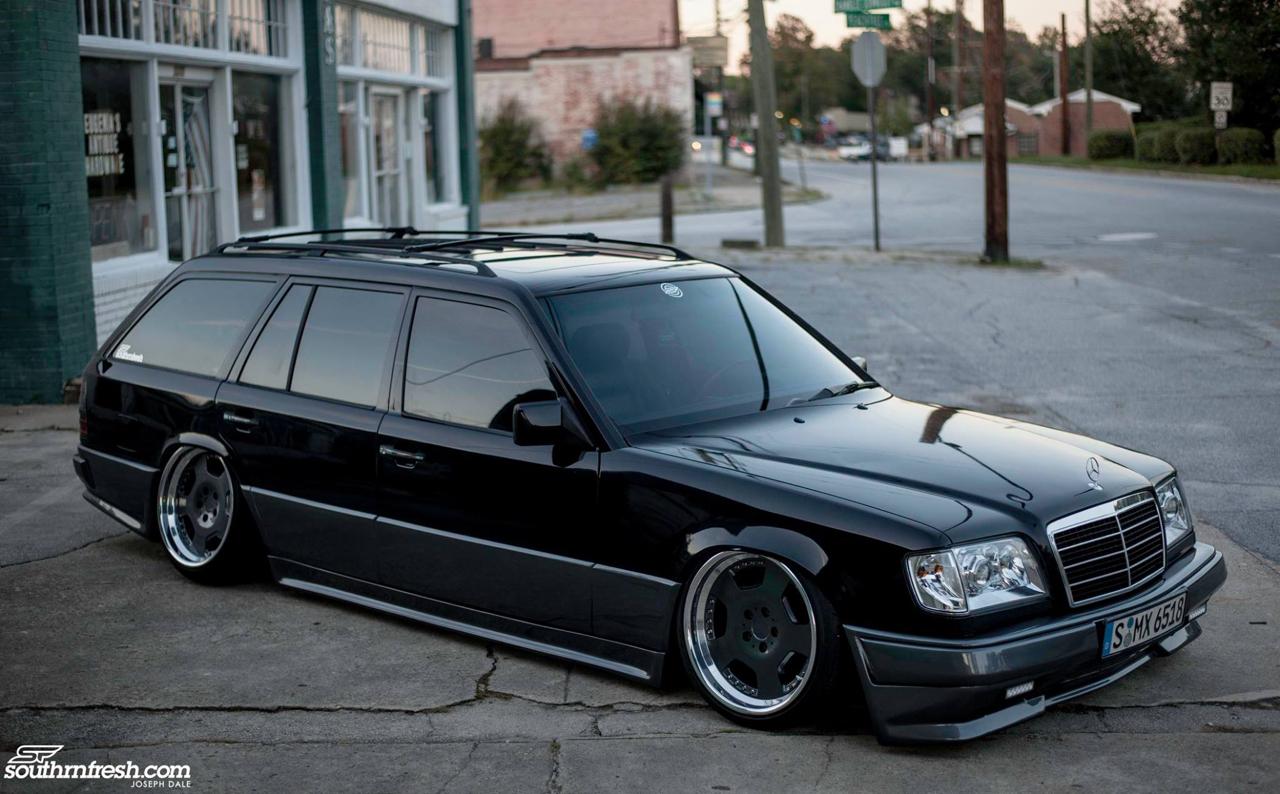 Bagged Mercedes 300TE-24 : Air-moire normande ! 18