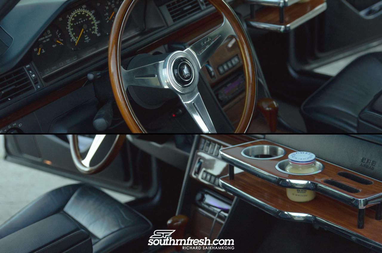 Bagged Mercedes 300TE-24 : Air-moire normande ! 19
