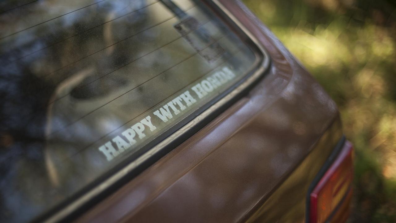 """Slammed Civic : """"Happy with Honda"""" 6"""
