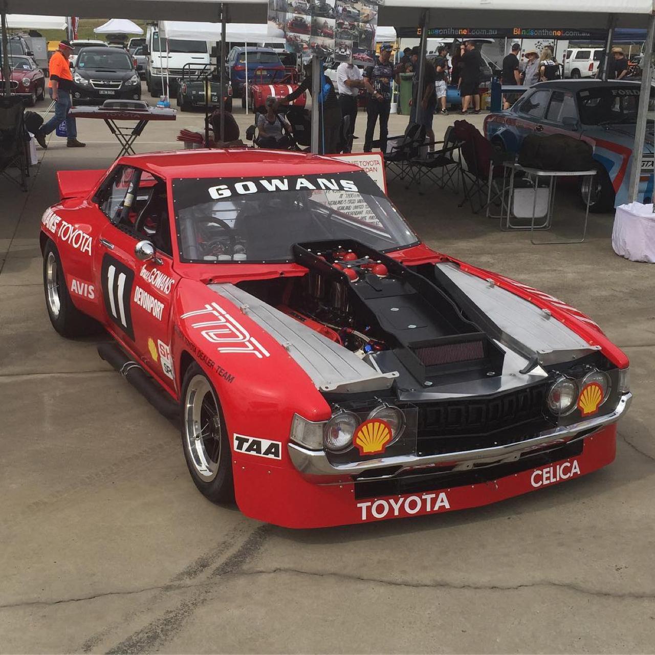 Bruce Gowans Toyota Celica - Avec un V8 Repco 1