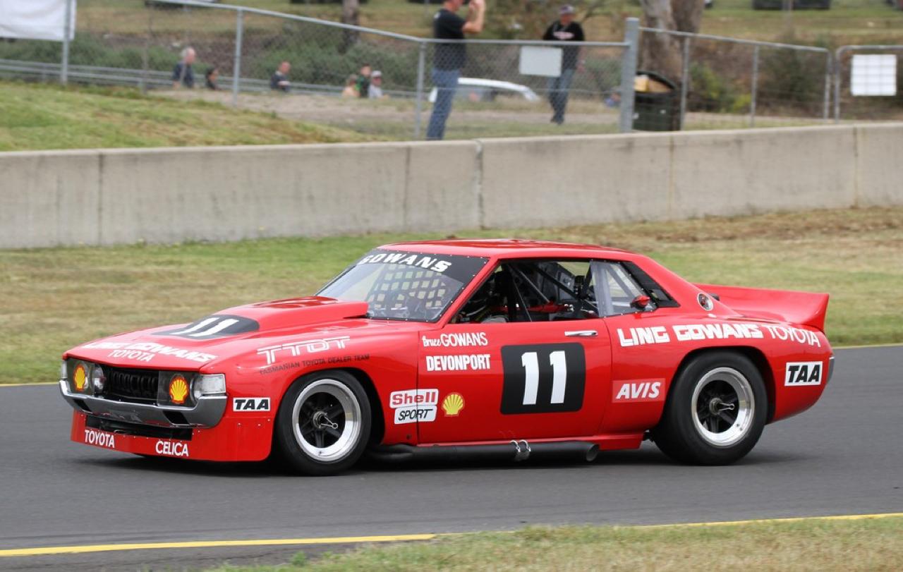 Bruce Gowans Toyota Celica - Avec un V8 Repco 2