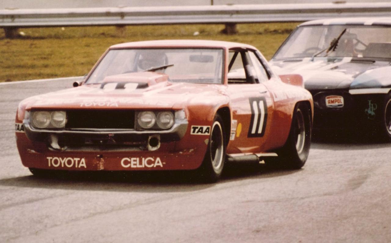 Bruce Gowans Toyota Celica - Avec un V8 Repco 3