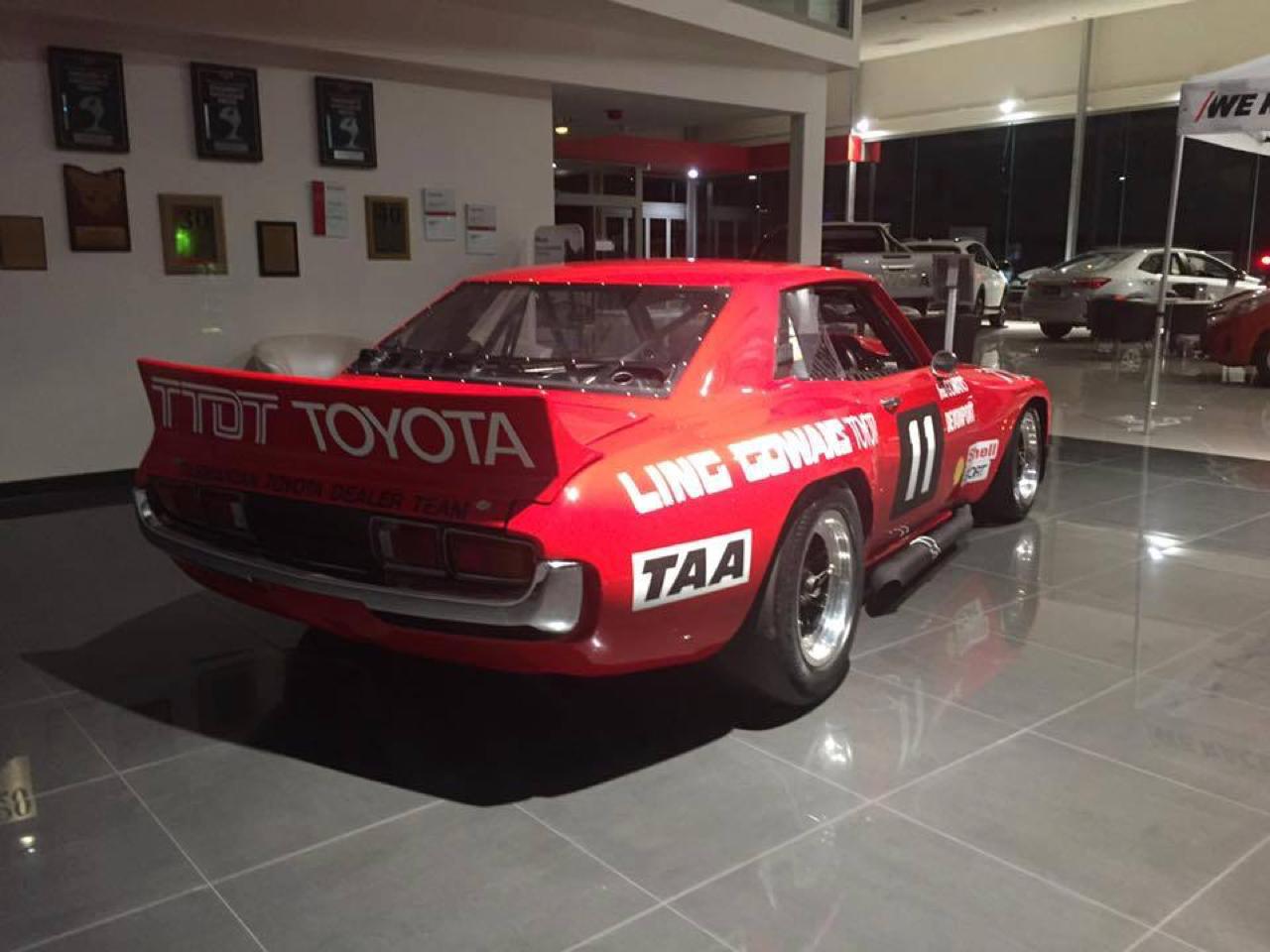 Bruce Gowans Toyota Celica - Avec un V8 Repco 5