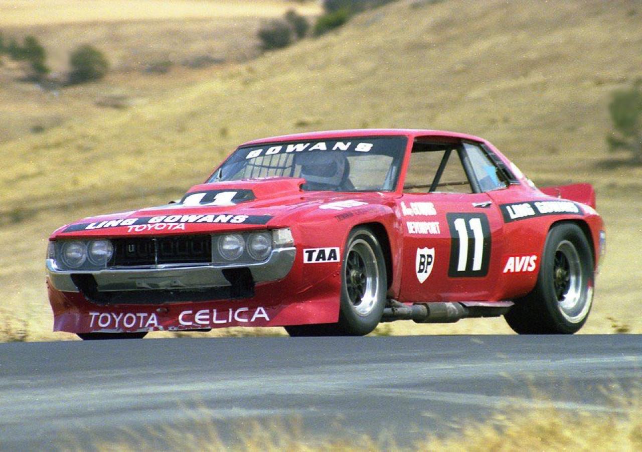 Bruce Gowans Toyota Celica - Avec un V8 Repco 6