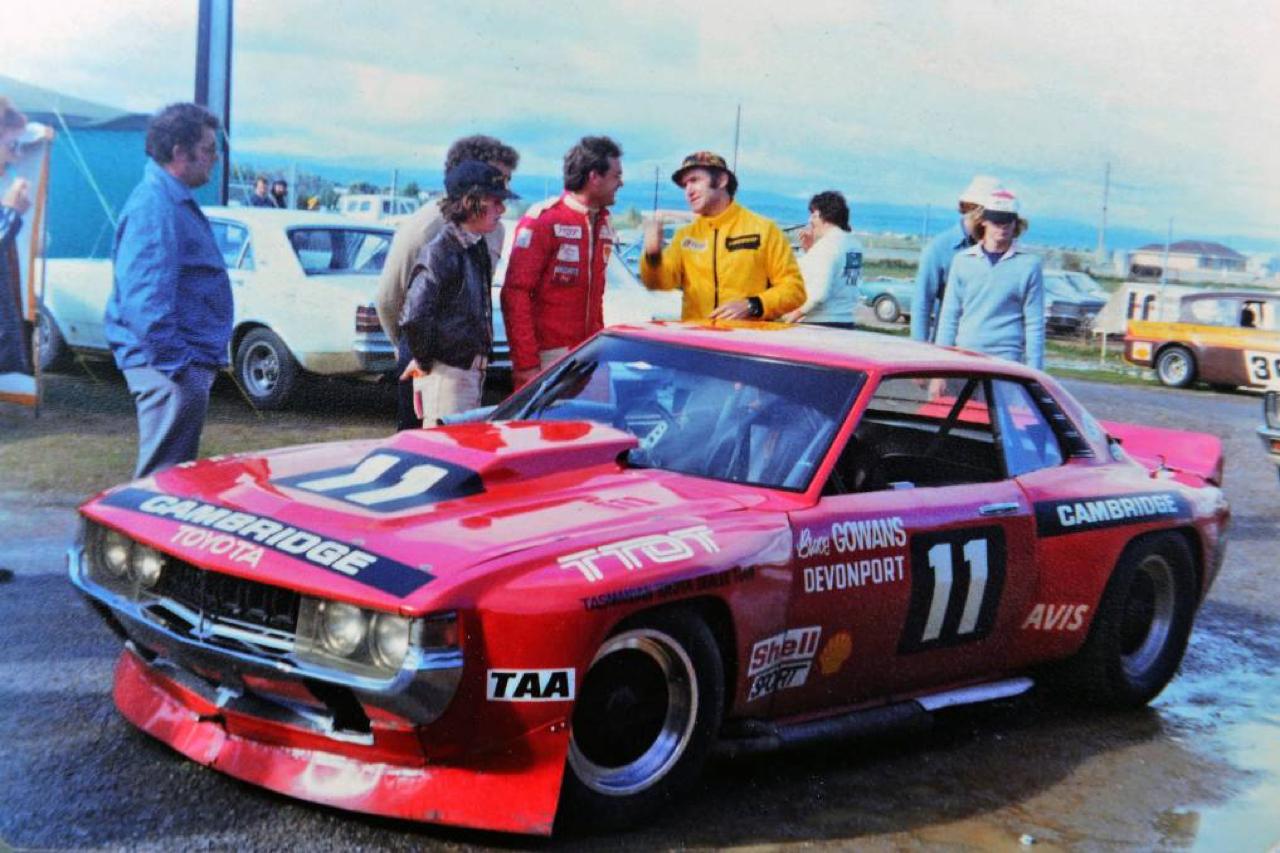 Bruce Gowans Toyota Celica - Avec un V8 Repco 7