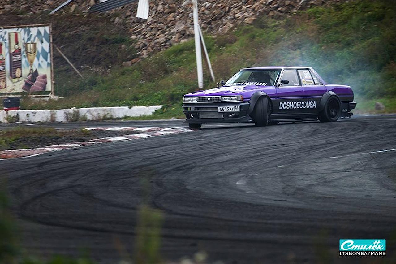 "Toyota Cresta swap 2JZ... ""Purple Rocket"" 34"