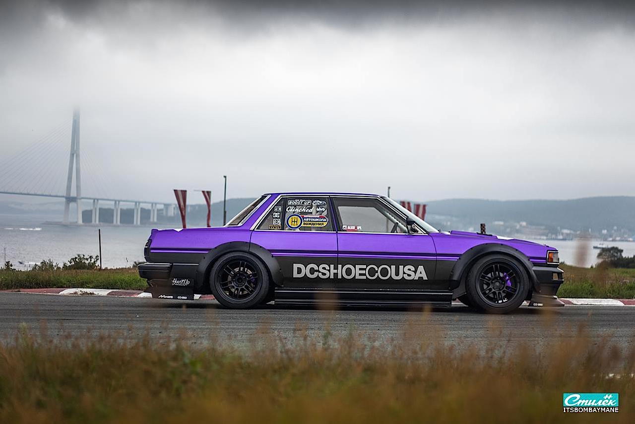 "Toyota Cresta swap 2JZ... ""Purple Rocket"" 31"