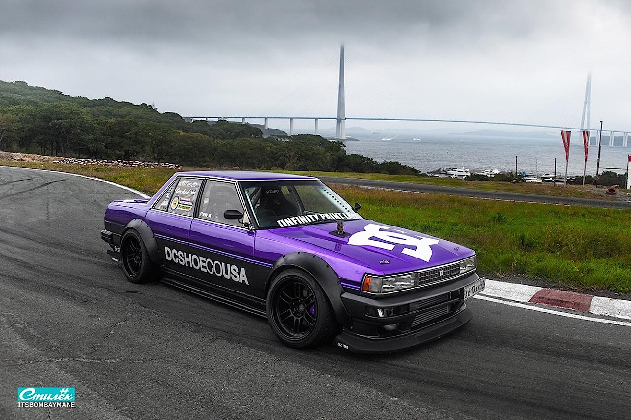 "Toyota Cresta swap 2JZ... ""Purple Rocket"" 21"