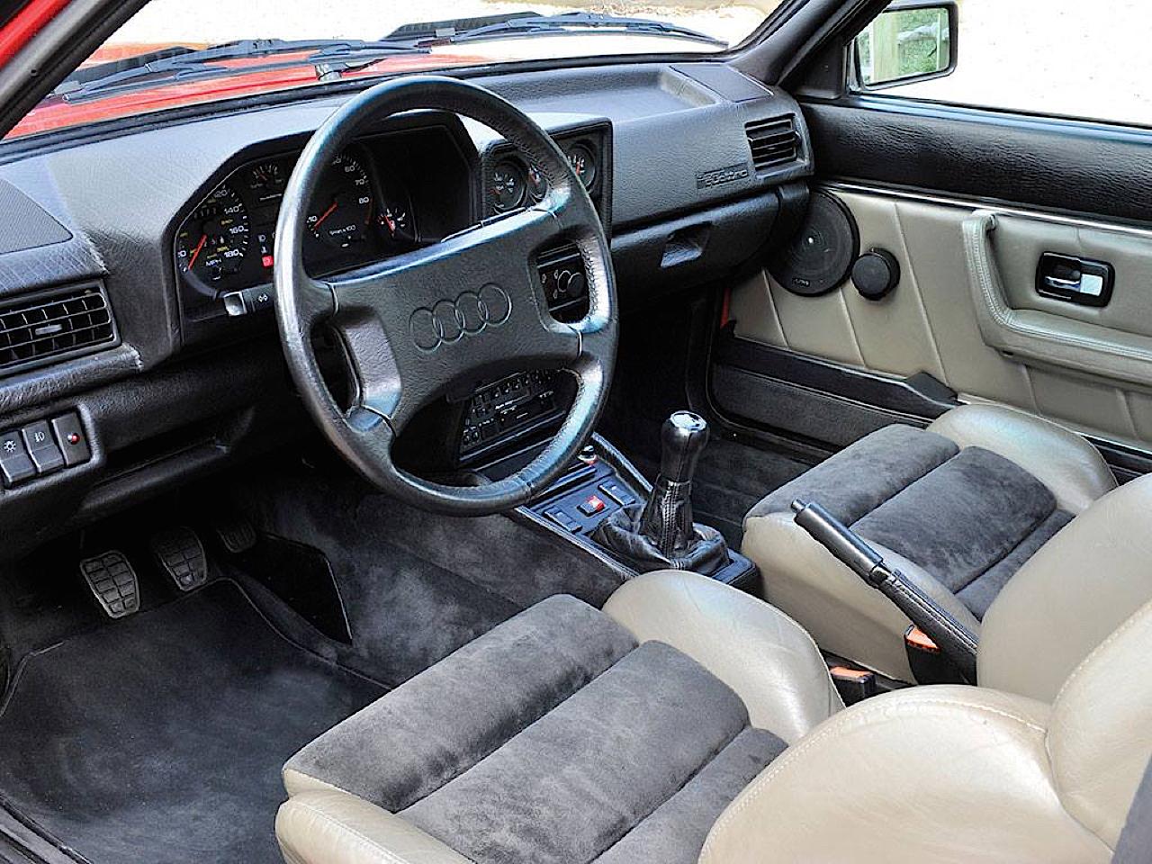Audi Quattro Sport - Châssis court, turbo et muscu ! 5