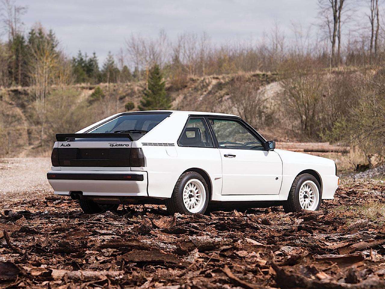 Audi Quattro Sport - Châssis court, turbo et muscu ! 32