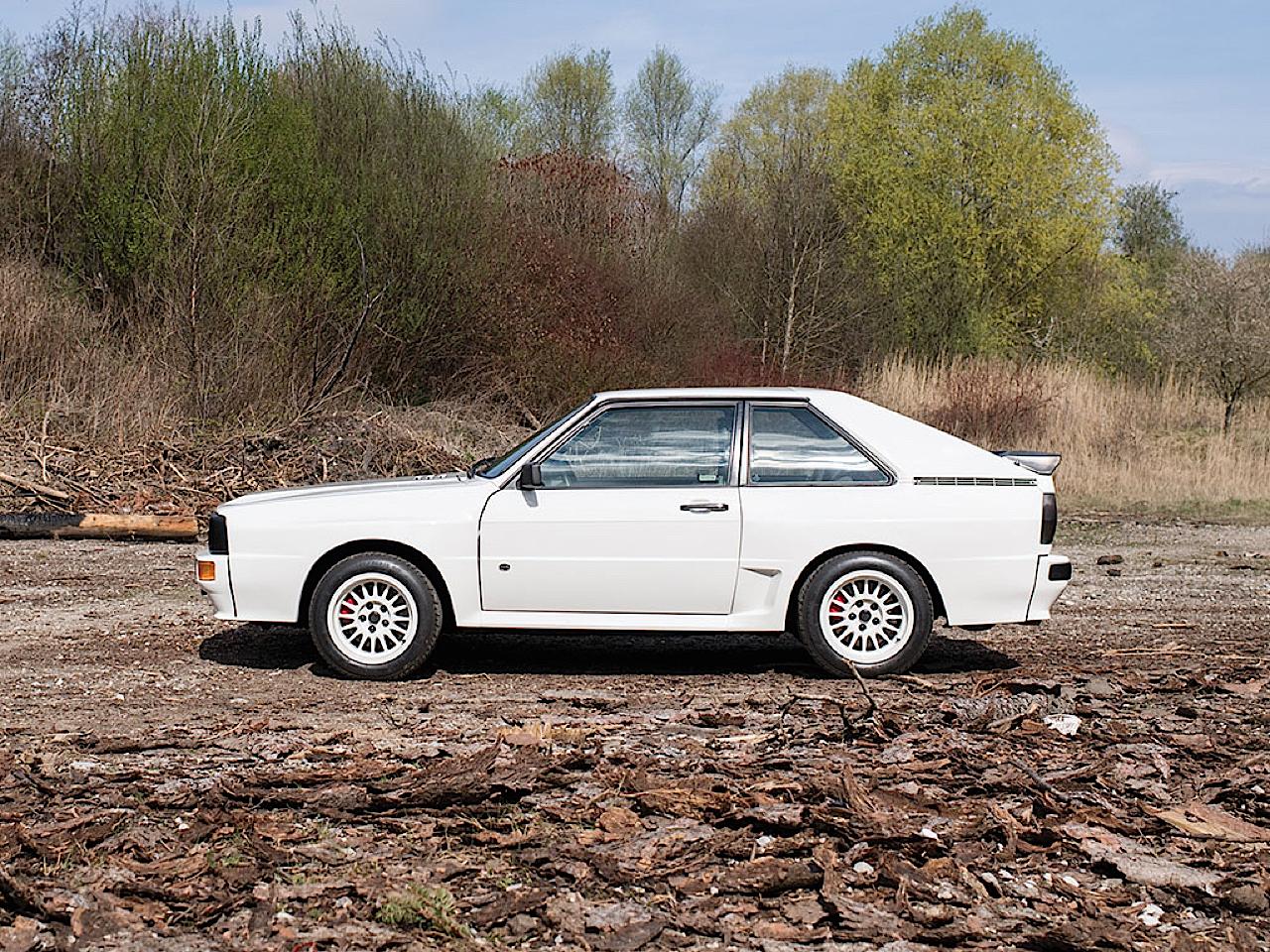 Audi Quattro Sport - Châssis court, turbo et muscu ! 28