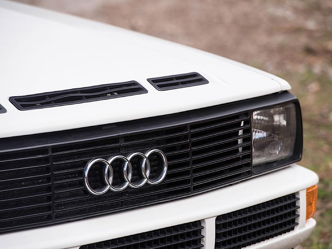 Audi Quattro Sport - Châssis court, turbo et muscu ! 26