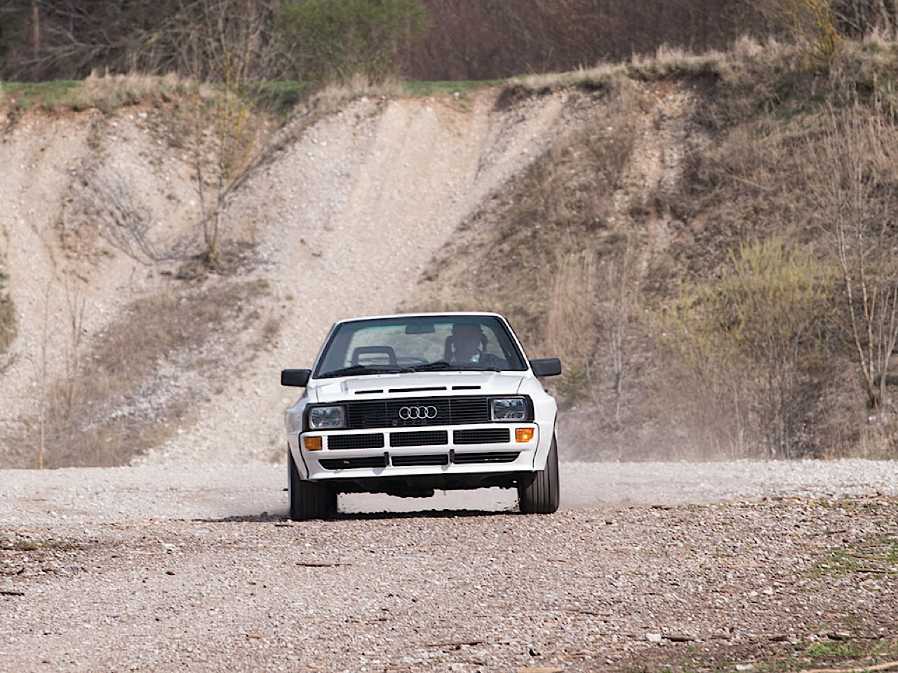 Audi Quattro Sport - Châssis court, turbo et muscu ! 22