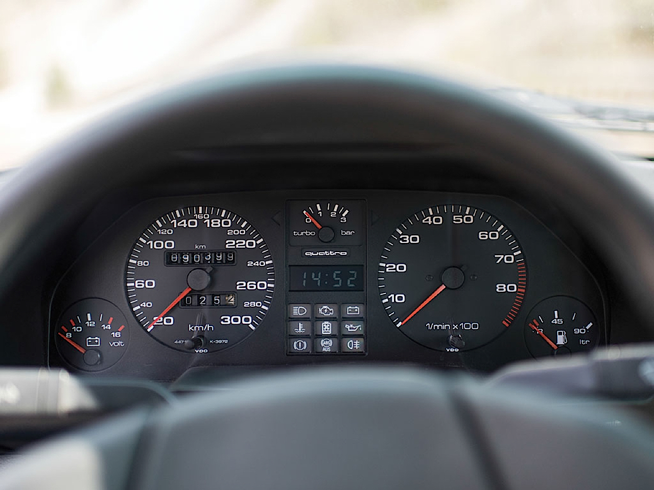 Audi Quattro Sport - Châssis court, turbo et muscu ! 24