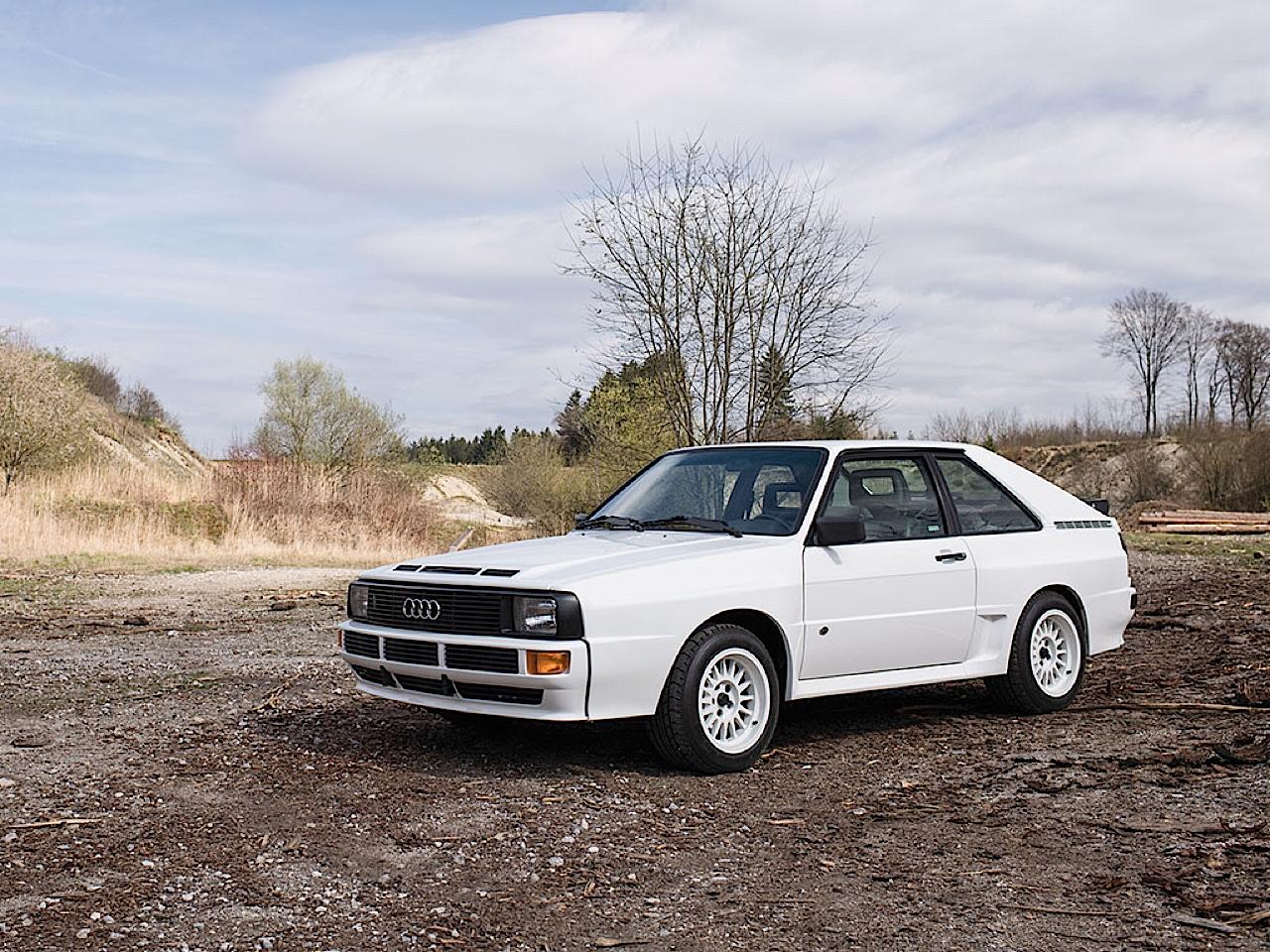 Audi Quattro Sport - Châssis court, turbo et muscu ! 12
