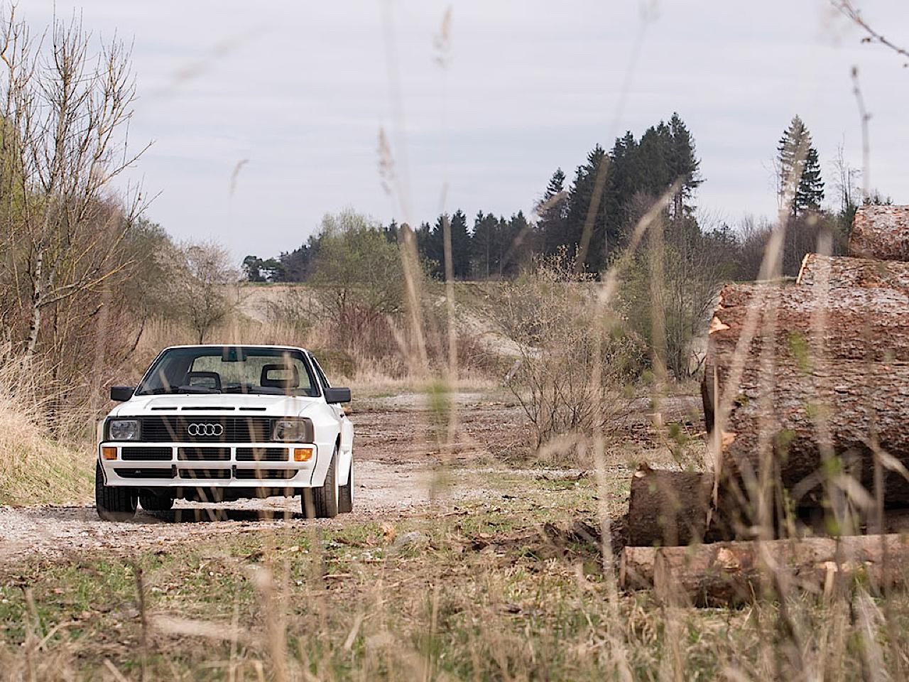 Audi Quattro Sport - Châssis court, turbo et muscu ! 6