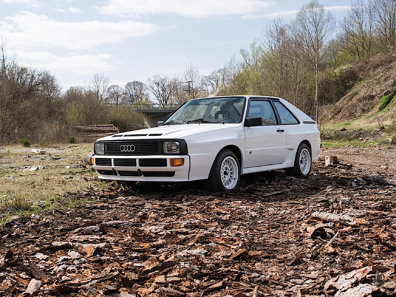 Audi Quattro Sport - Châssis court, turbo et muscu ! 2