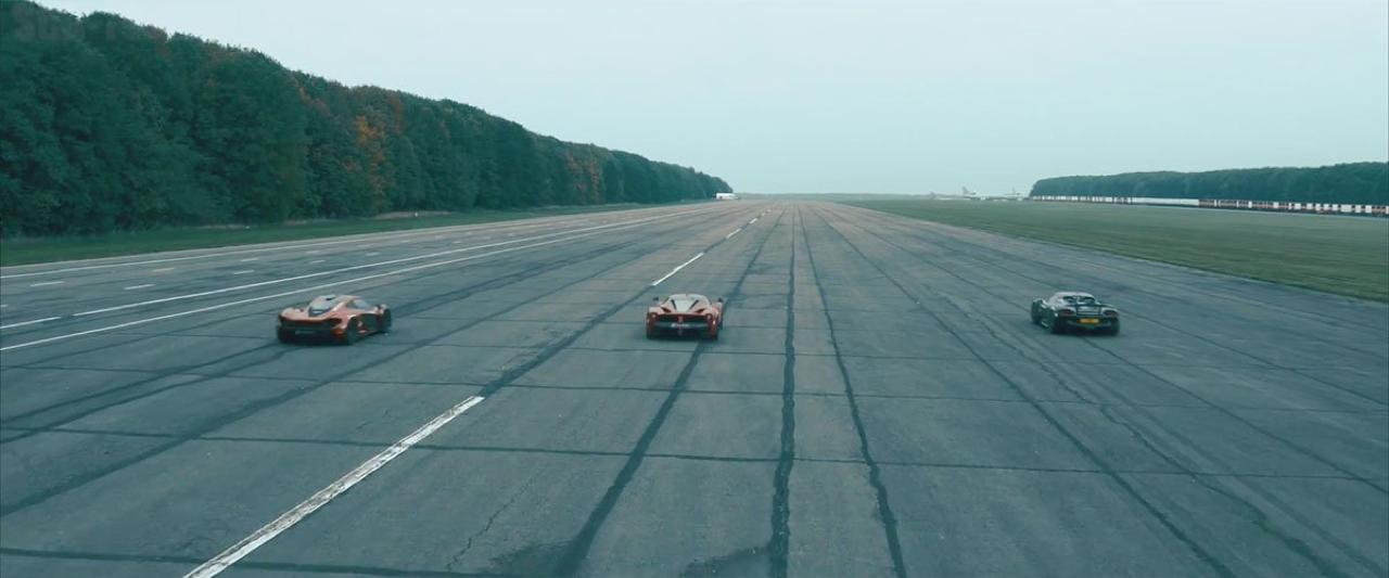 McLaren P1 vs LaFerrari vs Porsche 918 : Le Drag Race encore plus ultime ! 2