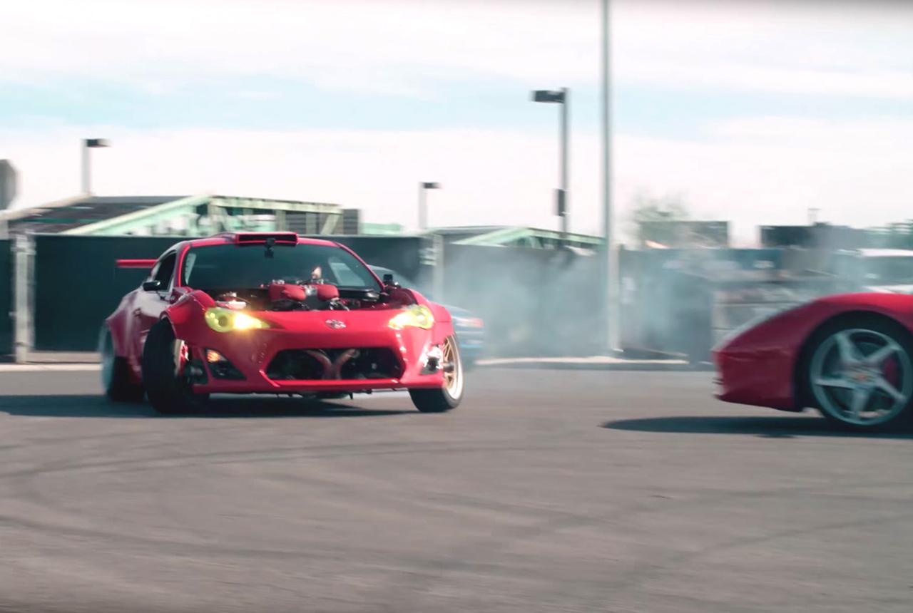 Toy' GT86 Swap Ferrari 458 - 86+458 = 4586 ! 8