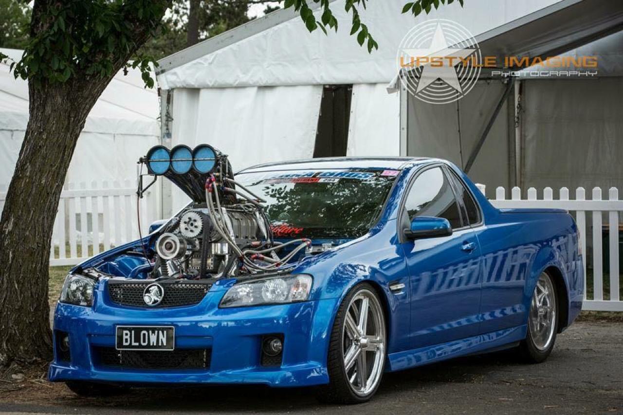 Holden Ute Blown... Quand il y a trop de puissance ! 9