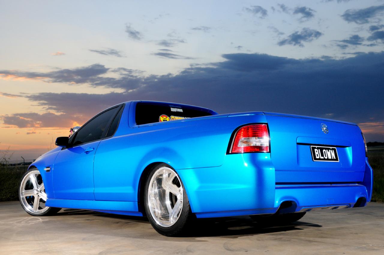 Holden Ute Blown... Quand il y a trop de puissance ! 8