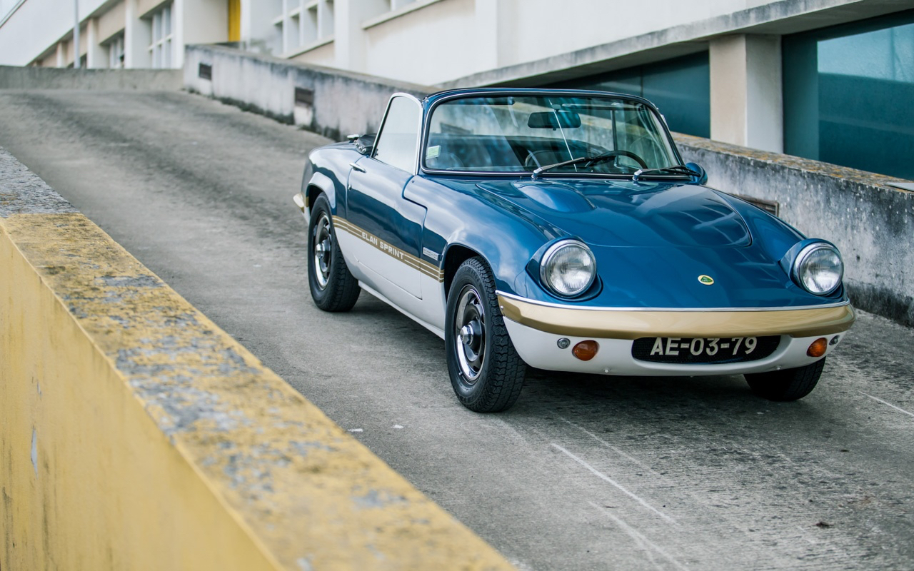 '73 Lotus Elan Sprint 5 - L'ennemi, c'est le poids. 56