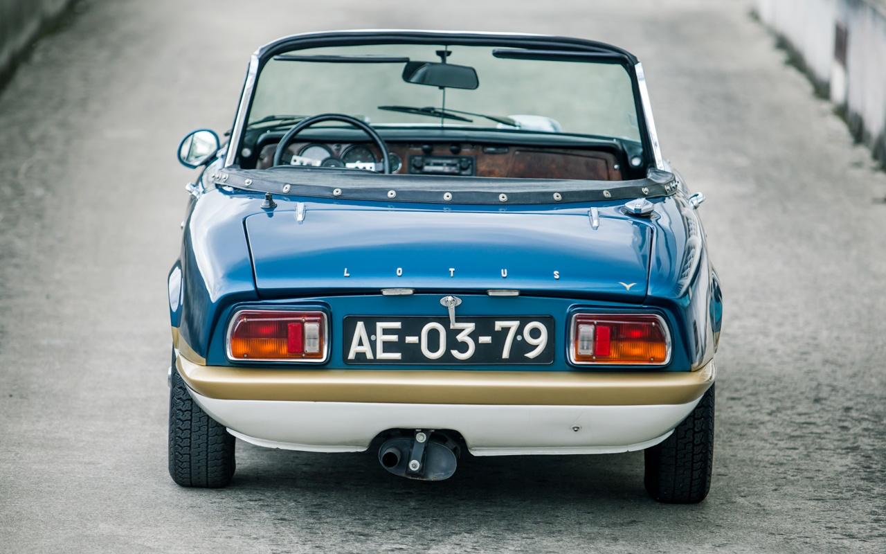 '73 Lotus Elan Sprint 5 - L'ennemi, c'est le poids. 51