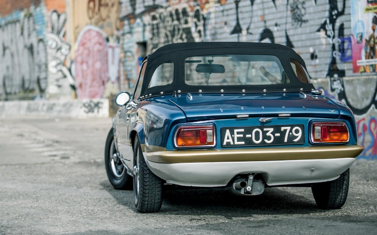 '73 Lotus Elan Sprint 5 - L'ennemi, c'est le poids. 40