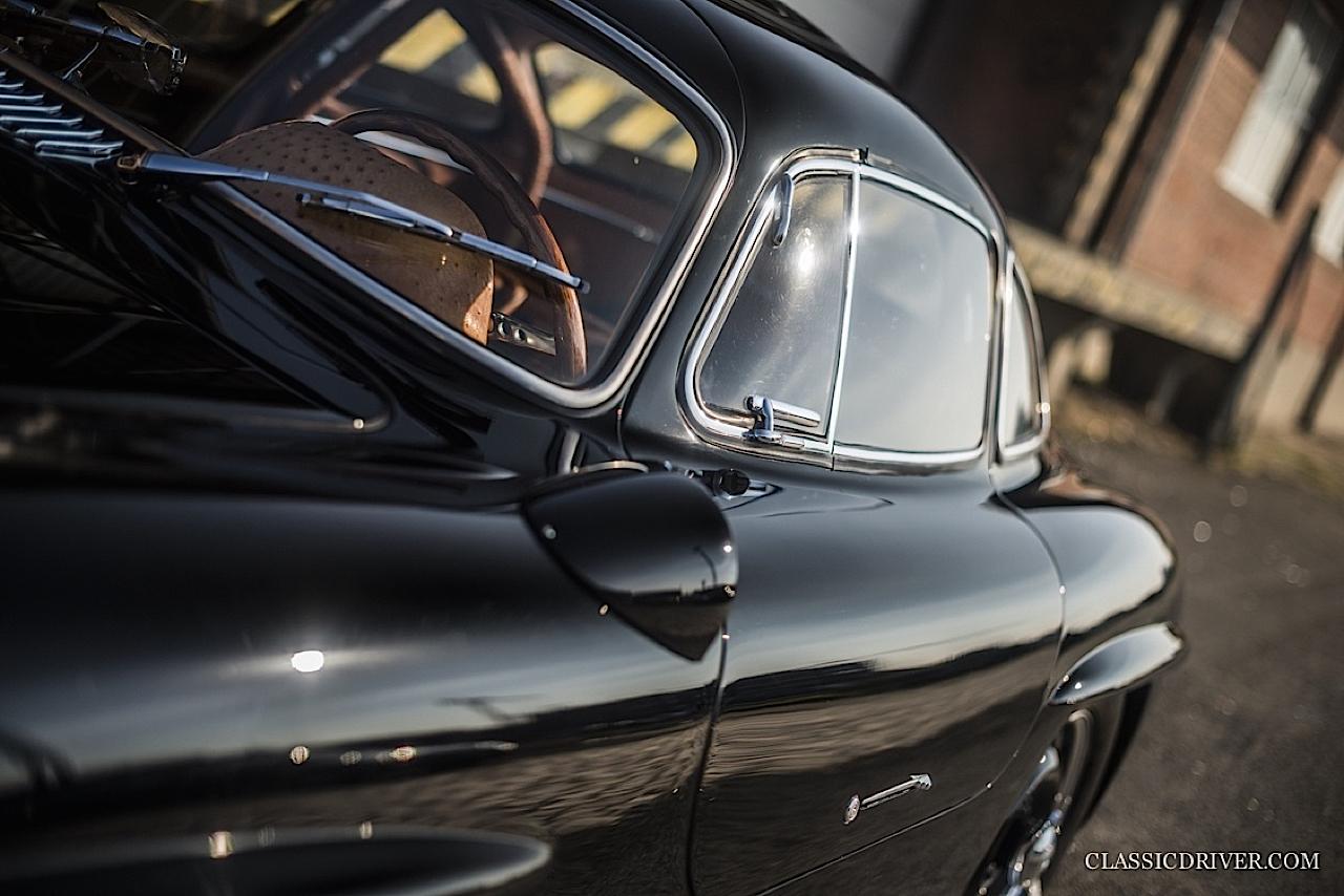 Mercedes 300 SL outlaw... en top chop et side pipe ! 88