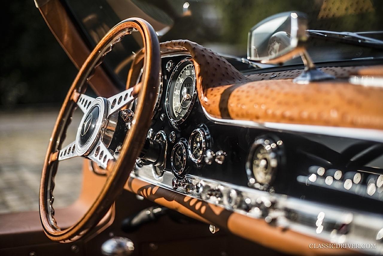 Mercedes 300 SL outlaw... en top chop et side pipe ! 92