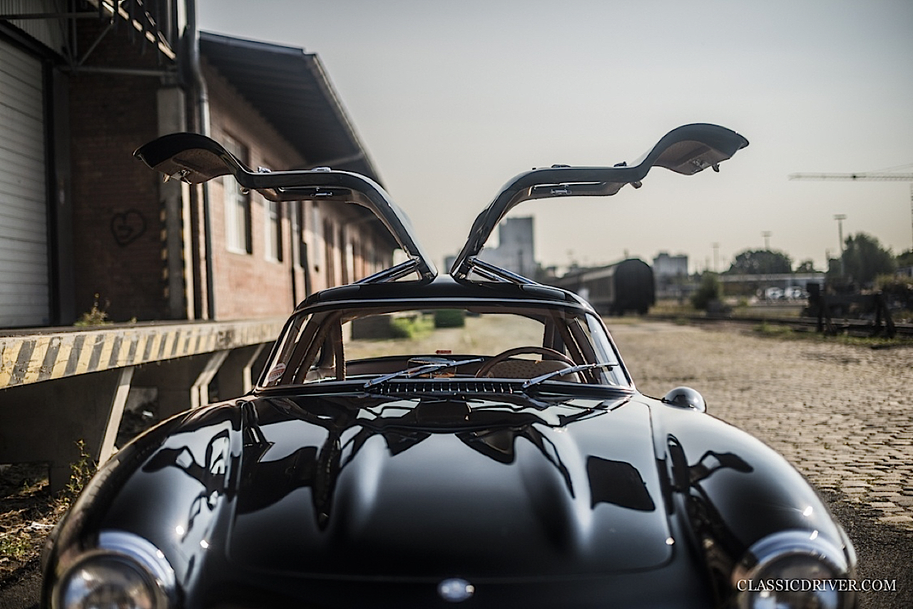 Mercedes 300 SL outlaw... en top chop et side pipe ! 94