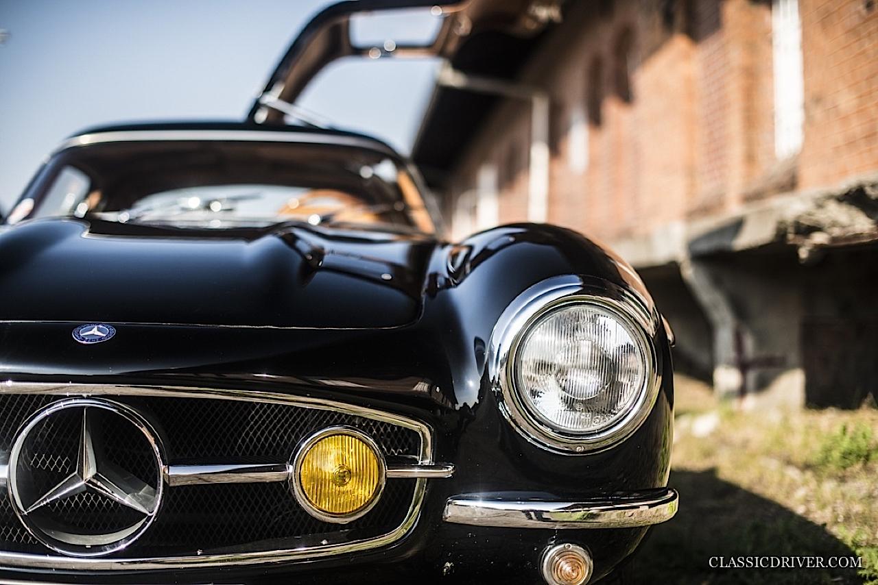 Mercedes 300 SL outlaw... en top chop et side pipe ! 97