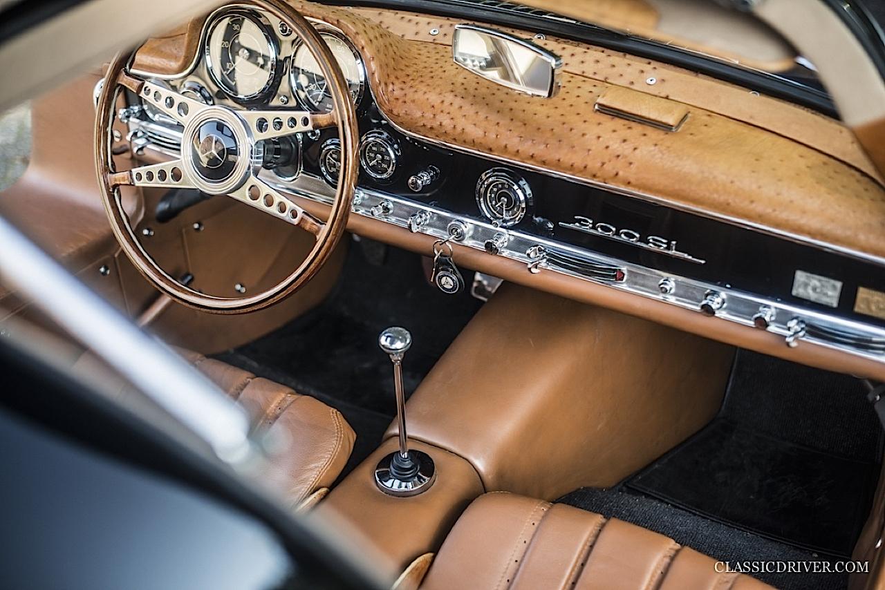 Mercedes 300 SL outlaw... en top chop et side pipe ! 112