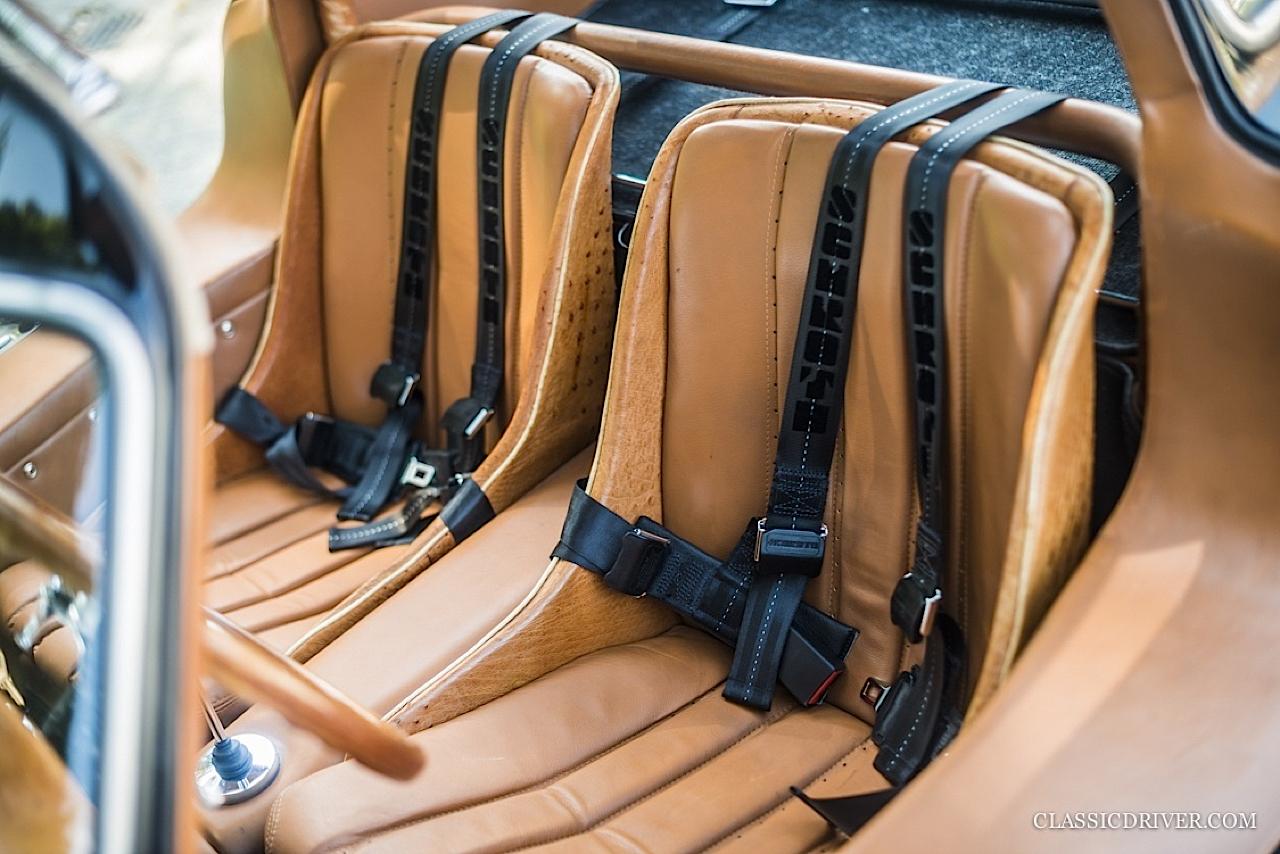 Mercedes 300 SL outlaw... en top chop et side pipe ! 113