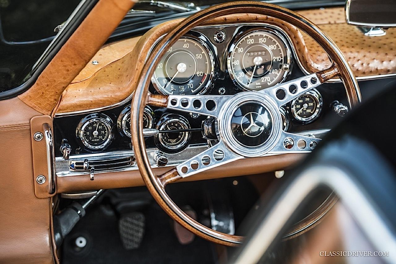Mercedes 300 SL outlaw... en top chop et side pipe ! 114