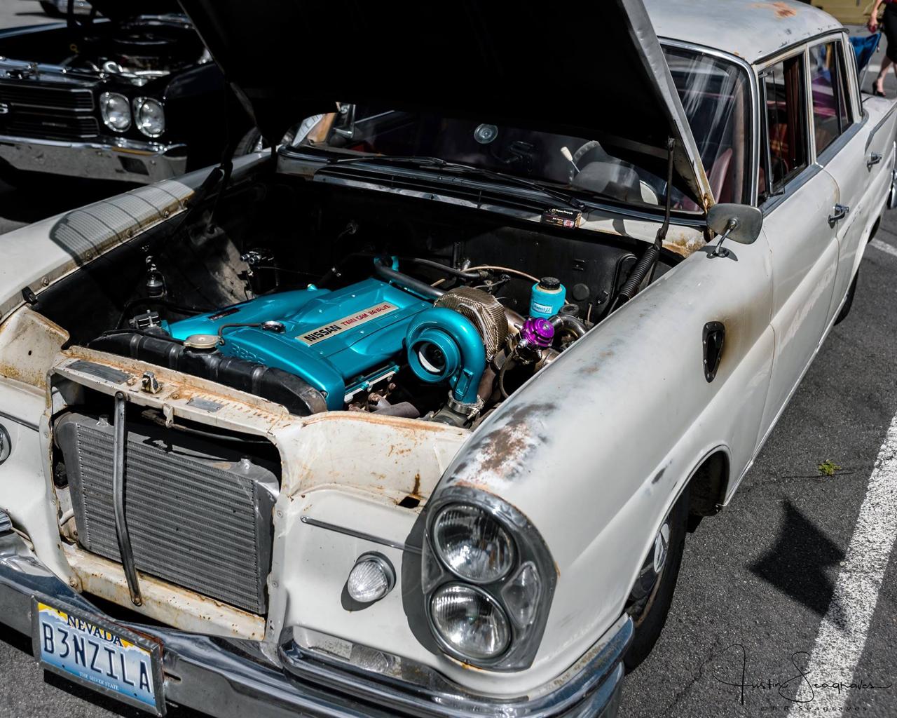 Mercedes W111 Sleeper... The Benzilla ! 35
