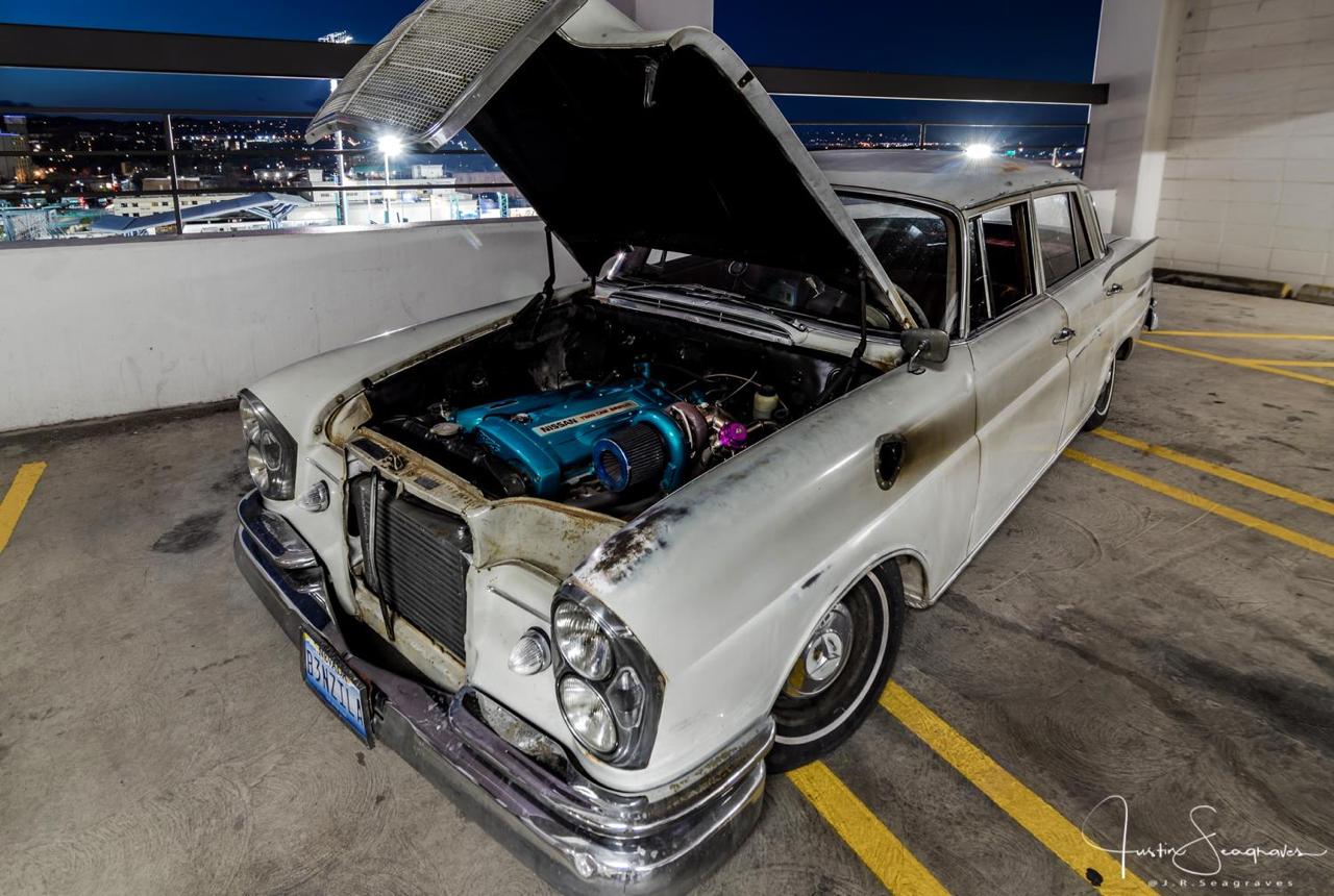 Mercedes W111 Sleeper... The Benzilla ! 34