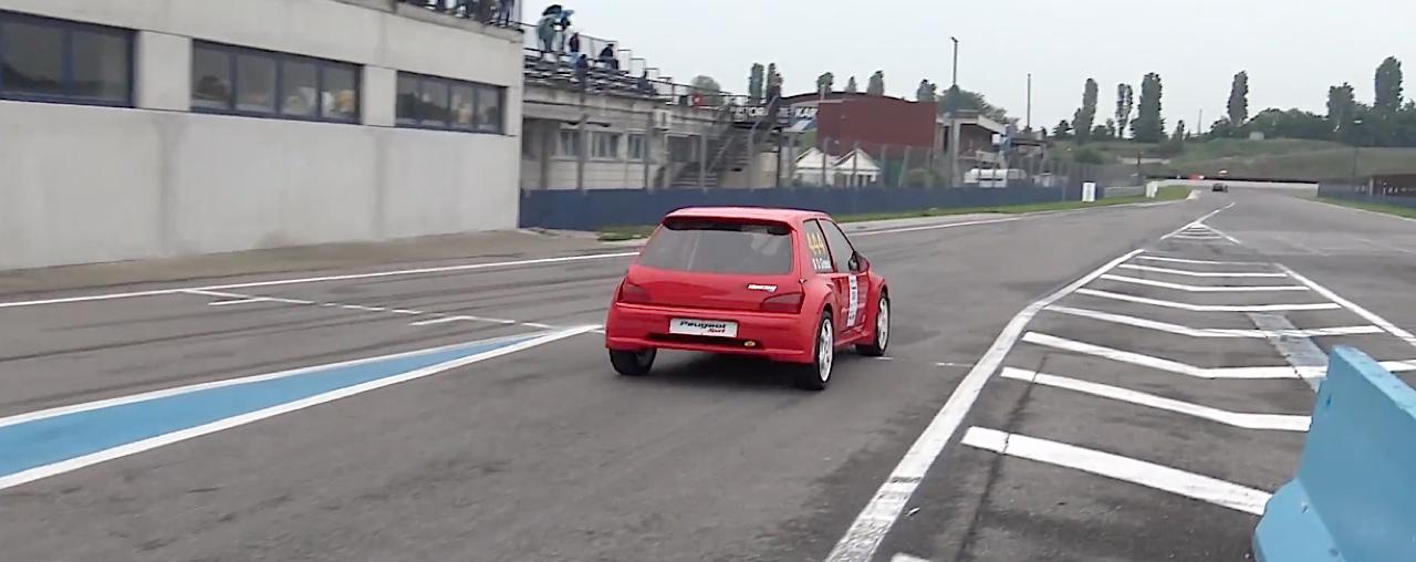 Peugeot 106 S16 Turbo Time Attack... Avec 500 ch sous l'capot ! 19