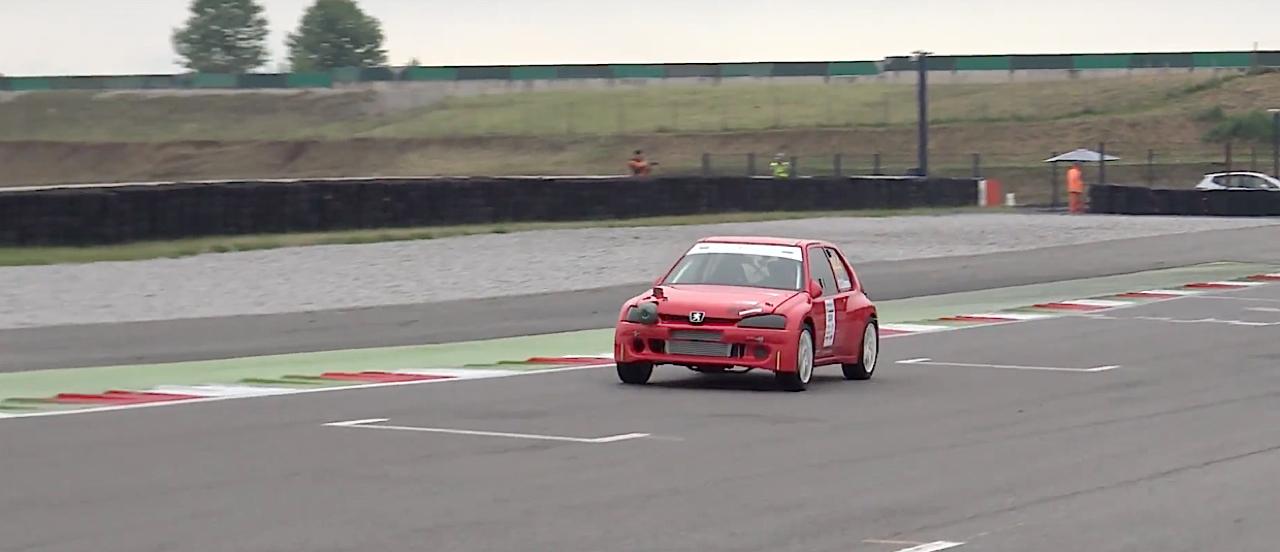 Peugeot 106 S16 Turbo Time Attack... Avec 500 ch sous l'capot ! 6