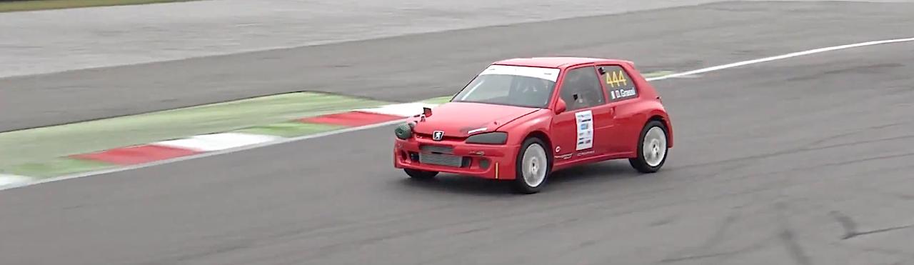 Peugeot 106 S16 Turbo Time Attack... Avec 500 ch sous l'capot ! 3